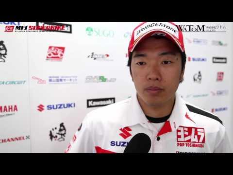 2014 SUPERBIKE ROUND 3 : Motegi JSB1000 QP Takuya Tsuda Interview