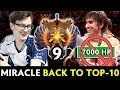 Miracle BACK to TOP-10 RANK — vs 7,000 HP RAID BOSS Mage Pudge