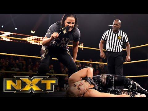 Shayna Baszler gives Rhea Ripley an NXT Women's Title Match: WWE NXT, Dec. 4, 2019