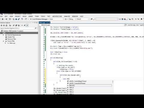 SDL 2 Made Easy Tutorial 19 - Mixer [Sound & Music]