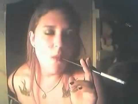 fetish holder smoking Cigarette