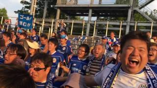 モンテディオ山形vs湘南ベルマーレ BLUEis 県民歌.