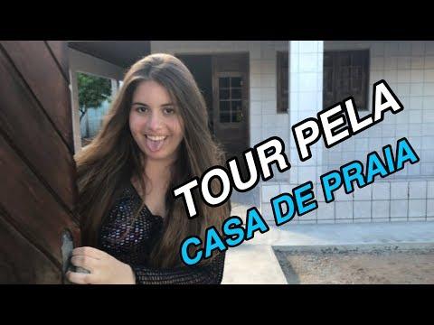 TOUR PELA CASA DE PRAIA!!! | Sofia Santino