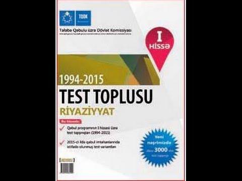 Çevrə və dairə /Test toplusu 1994-2014/ 1-50