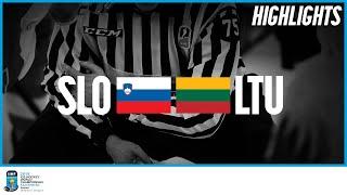 Slovenia vs. Lithuania | Highlights | 2019 IIHF Ice Hockey World Championship Division I Group A
