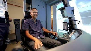 Inside look at TTC's life-sized streetcar simulator