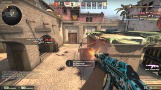 cs go shadow case trade up ak 47   frontside misty gameplay