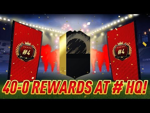 40-0 REWARDS WITH HASHTAG HARRY & SPENCER FC AT THE HASHTAG HQ!!! TOP 100 FUT CHAMPIONS REWARDS!