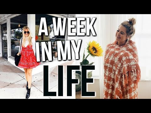 a week in my life at home | thanksgiving break