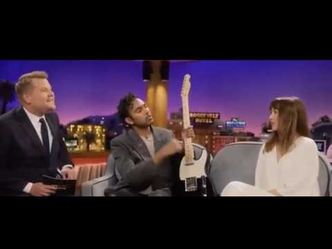"Yesterday Deleted Scene - ""Something"" On James Corden Show"