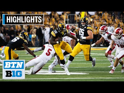 highlights:-five-hawkeyes-score-touchdowns-in-win-|-miami-(oh)-vs.-iowa-|-august-31,-2019