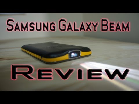 Samsung Galaxy Beam Review - Pico Projector Smartphone