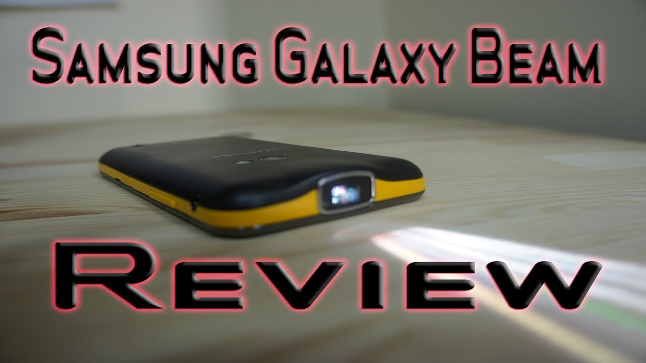 f16c86662e2 Samsung Galaxy Beam Review - Pico Projector Smartphone - YouTube