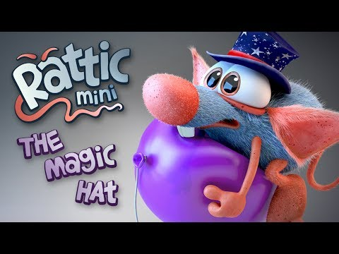 RATTIC mini – THE MAGIC HAT Funny 3D Animated Cartoons Short Series for Kids and Adult.