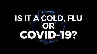Cold, flu or coronavirus symptoms? How to tell if it's Covid-19