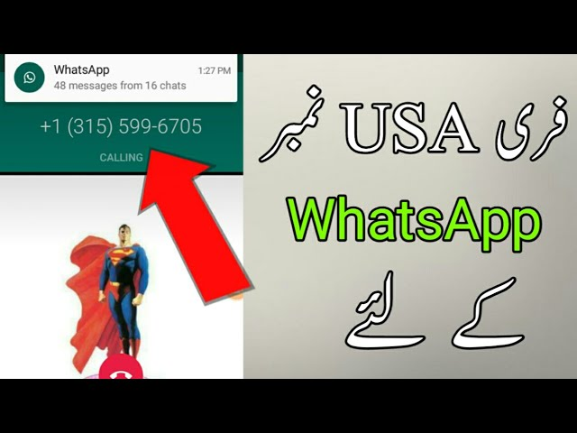 12 49 MB) How to get free USA Number For WhatsApp || 2019 100% new