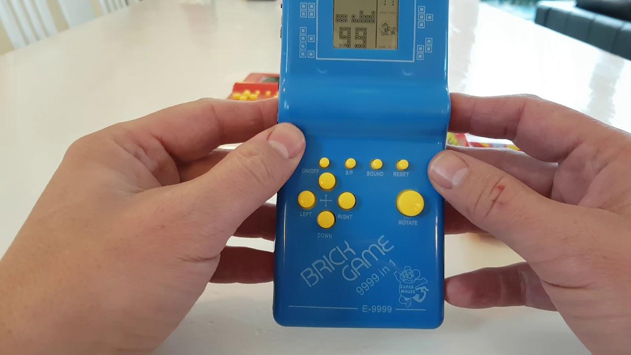 9999 in 1 - Brick Game - user manual - Find Tetris 4K