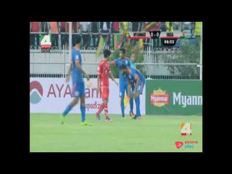 myanmar vs India full match AFC Asian cup qualification