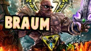 EL INCREÍBLE BRAUM FULL AD - League of Legends