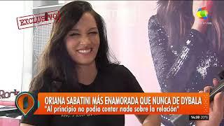 Hablamos en exclusivo con Oriana Sabatini