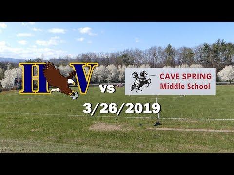 HVMS v Cave Spring Middle School -3/26/2019 FULL GAME