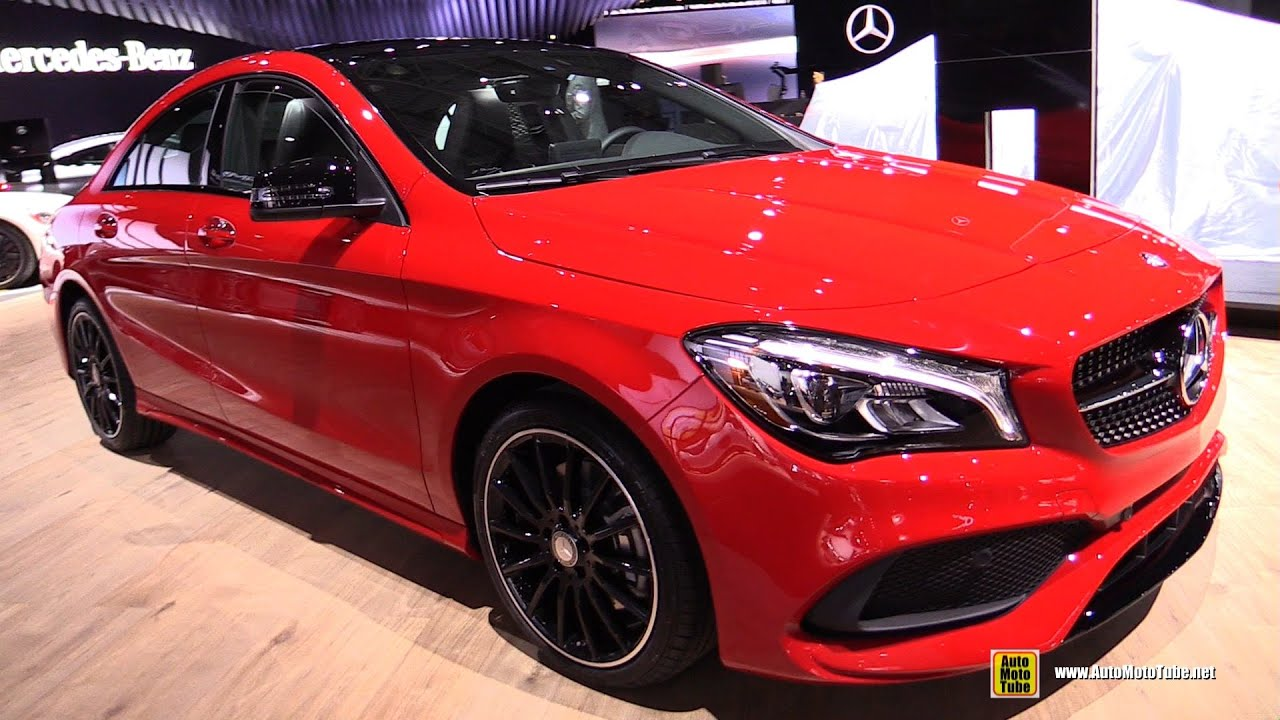2017 Mercedes Cla250 4matic Exterior And Interior Walkaround Debut At 2016 New York Auto Show You
