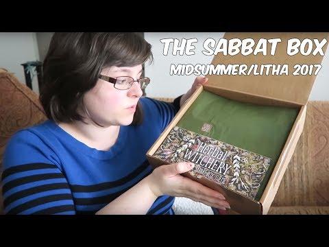 The Sabbat Box: Midsummer 2017 // 🌱🌿 Herbal Witchery // Unboxing