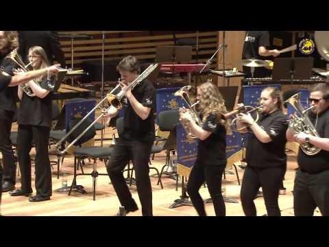 Thrift Shop European Youth Brassband conductor Erik Janssen