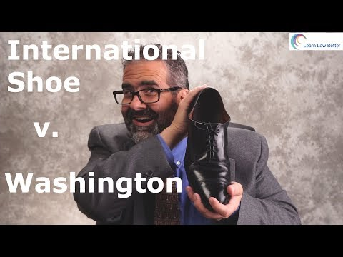 International Shoe Co. v. Washington