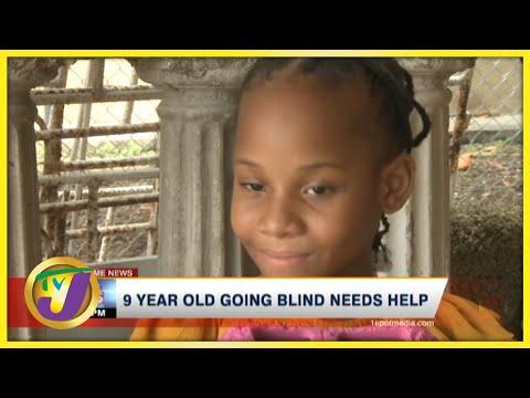 9yr Old Jamaican Girl Going Blind & Needs Help | TVJ News - June 19 2021