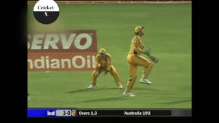 India Vs Australia 7th ODI Future Cup 2007 Highlights