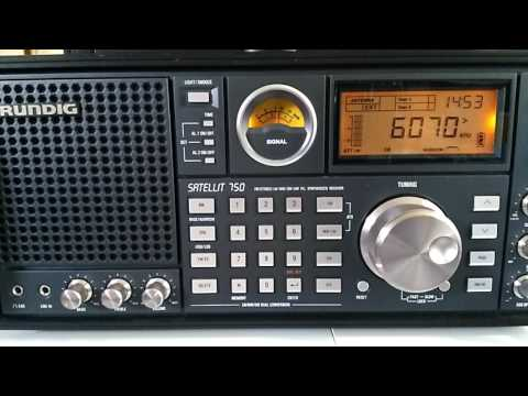 Shortwave broadcast of CFRX from Toronto, Canada @ 6070 kHz