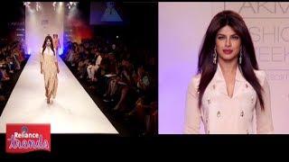 Priyanka Chopra in a Neeta Lulla creation inspired by Reliance Trends at LFW Summer Resort 2014! Thumbnail