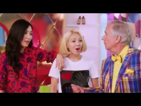 Girls' Generation dancing Uptown Funk in NBC Better Late Than Never