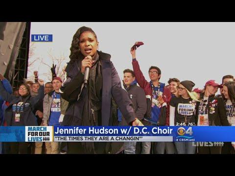 Jennifer Hudson, D.C. Choir Perform At March For Our Lives