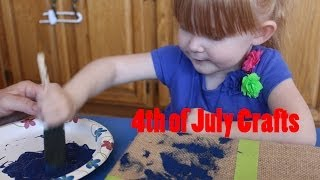 4th of July Crafts to do with your toddler! Thumbnail