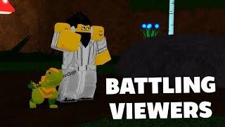 BATTLING AGAINST VIEWERS! - Loomian Legacy PVP