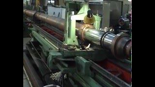 Ремонт телескопического гидроцилиндра(Ремонт телескопического цилиндра для автокрана, длина гидроцилиндра — 13,5 метров, а вес — свыше 4,5 тонн...., 2012-07-11T17:58:43.000Z)