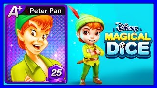 Disney Magical Dice Peter Pan A+ Level 25 (iOS/Android) Gameplay Video