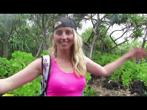 Hawaii (maui) in 2 Minutes & Vegan Breakfast