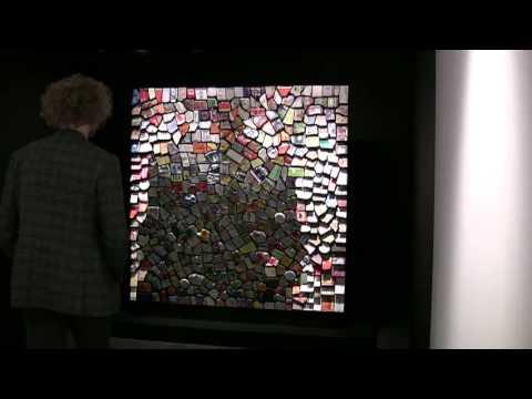 'Trash Mirror No. 3' (2011) by Daniel Rozin
