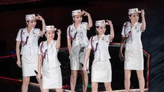 북한 모란봉악단 현란해진 댄스…'걸그룹' 면모 선보여
