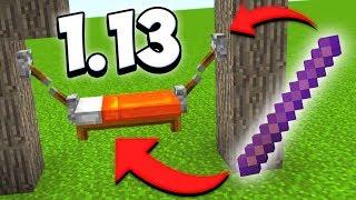 ПОСТРОЙКИ ИЗ НОВЫХ БЛОКОВ В МАЙНКРАФТ 1.13 / Minecraft 17w48a