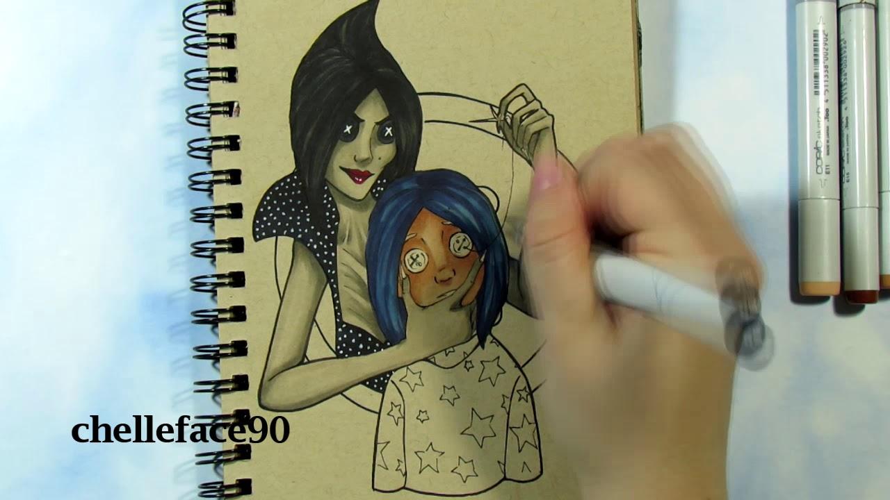 Button Eyes Coraline Fanart Youtube
