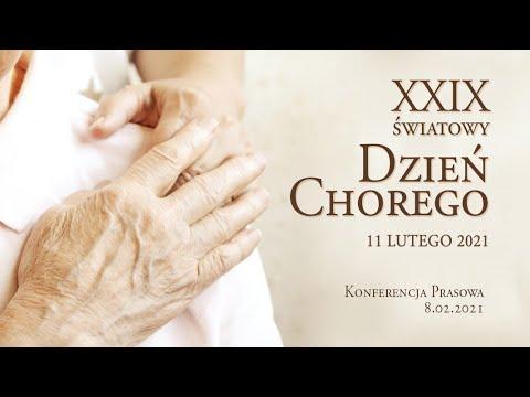 Konferencja Prasowa przed XXIX Dniem Chorego - 8.02.2021 - całość