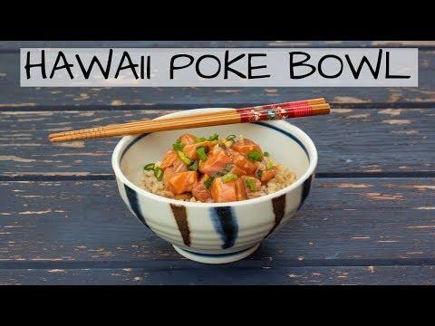 How To Make Hawaii Poke Bowl (SUPER EASY salmon poke recipe!)