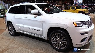2018 Jeep Grand Cherokee - Exterior and Interior Walkaround - 2018 Chicago Auto Show