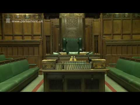 UK Parliament tour - House of Commons Chamber