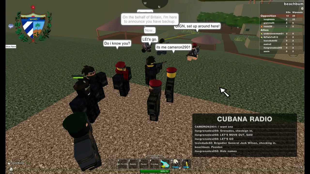 CUBAN REVOLUTIONARY ARMED FORCES-ROBLOX - YouTube