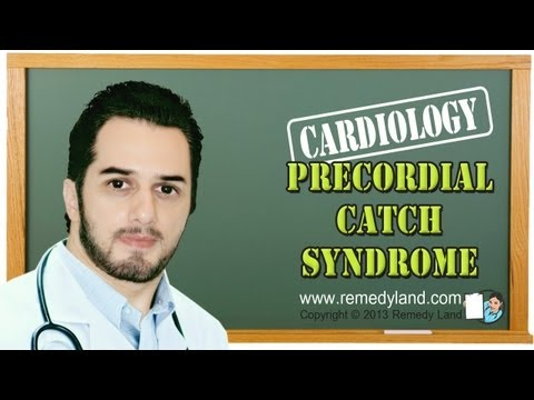 Precordial catch syndrome or Texidor's Twinge is a harmless condition
